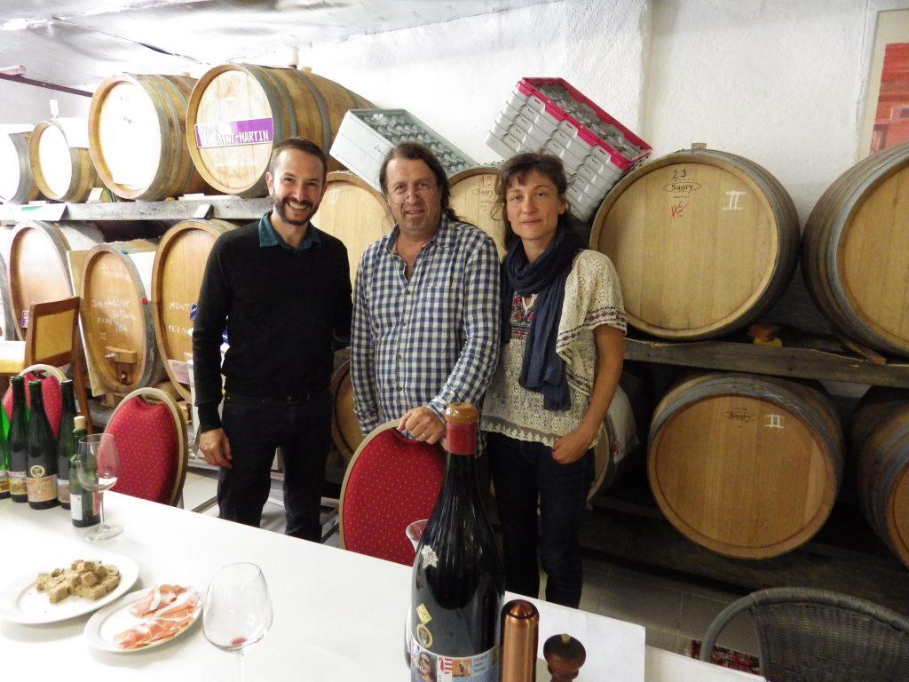 Robwerto Cardinale, le dégustateur du Gambero rosso au cellier